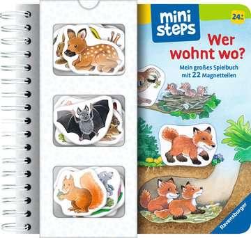 31667 Babybücher und Pappbilderbücher Wer wohnt wo? von Ravensburger 1