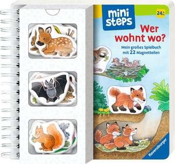 31667 Babybücher und Pappbilderbücher Wer wohnt wo? von Ravensburger 2