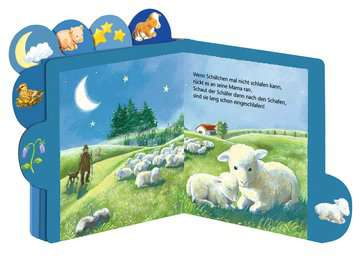 31672 Babybücher und Pappbilderbücher Abends, wenn kleine Tiere schlafen gehen von Ravensburger 2
