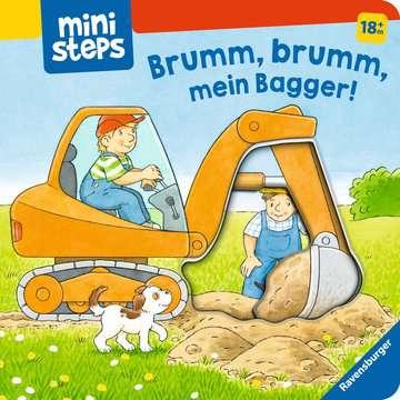 31691 Babybücher und Pappbilderbücher Brumm, brumm, mein Bagger! von Ravensburger 1