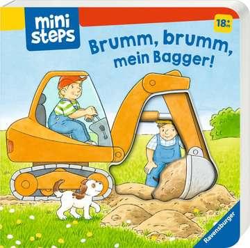 31691 Babybücher und Pappbilderbücher Brumm, brumm, mein Bagger! von Ravensburger 2