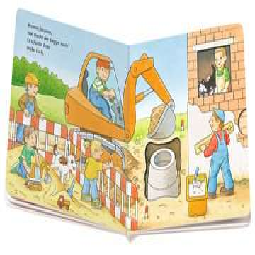 31691 Babybücher und Pappbilderbücher Brumm, brumm, mein Bagger! von Ravensburger 4