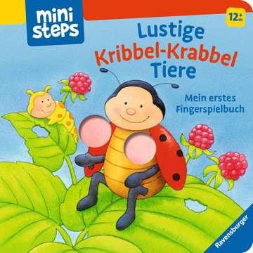 Lustige Kribbel-Krabbel Tiere Kinderbücher;Babybücher und Pappbilderbücher - Bild 1 - Ravensburger