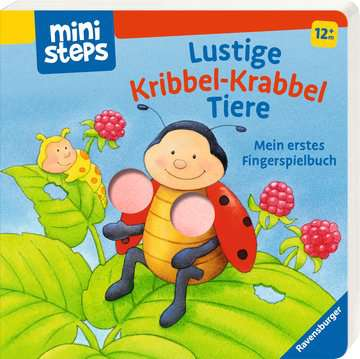31700 Babybücher und Pappbilderbücher Lustige Kribbel-Krabbel Tiere von Ravensburger 2