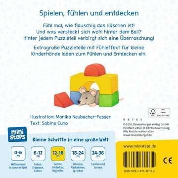 31717 Babybücher und Pappbilderbücher Mein erstes Fühl-Puzzlebuch von Ravensburger 3