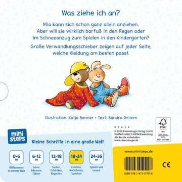31731 Babybücher und Pappbilderbücher Anziehen, Ausziehen, Umziehen! von Ravensburger 3