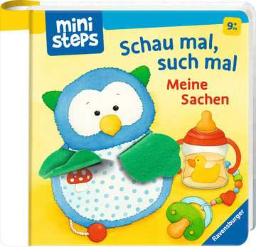 31757 Babybücher und Pappbilderbücher Schau mal, such mal: Meine Sachen von Ravensburger 2