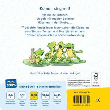 Sing mit mir! Meine allerersten Kinderlieder Kinderbücher;Babybücher und Pappbilderbücher - Bild 3 - Ravensburger