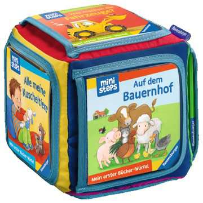 Mein Erster Bücher Würfel Starter Set Babybücher Und