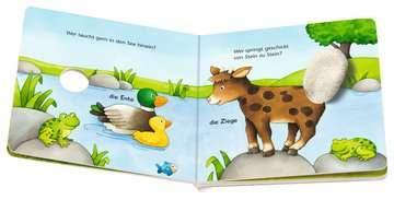 31785 Babybücher und Pappbilderbücher Was wackelt hier? Was zappelt hier? von Ravensburger 5