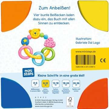 31787 Babybücher und Pappbilderbücher Mein allererstes Beißbuch von Ravensburger 3