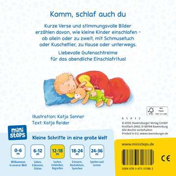 31788 Babybücher und Pappbilderbücher Wenn kleine Kinder müde sind von Ravensburger 3