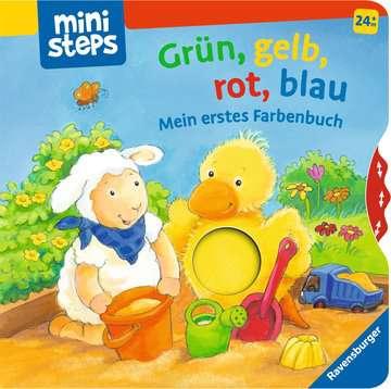 31791 Babybücher und Pappbilderbücher Grün, gelb, rot, blau von Ravensburger 1