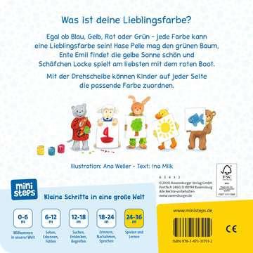 31791 Babybücher und Pappbilderbücher Grün, gelb, rot, blau von Ravensburger 3