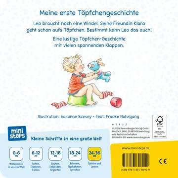 31792 Babybücher und Pappbilderbücher Aufs Töpfchen gehen ist pipileicht von Ravensburger 3