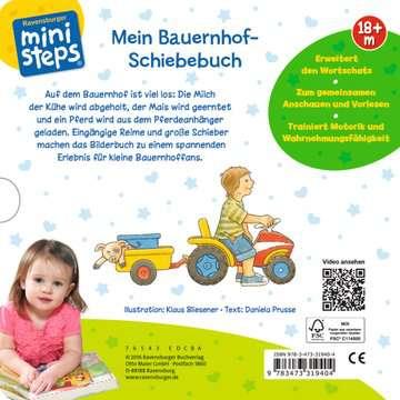31940 Babybücher und Pappbilderbücher Mein Bauernhof-Schiebebuch von Ravensburger 1