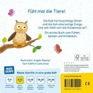 31990 Babybücher und Pappbilderbücher Hase, Katze, Kuh - Was fühlst du? von Ravensburger 3