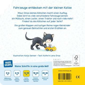 31991 Babybücher und Pappbilderbücher Unterwegs mit den Fahrzeugen von Ravensburger 3