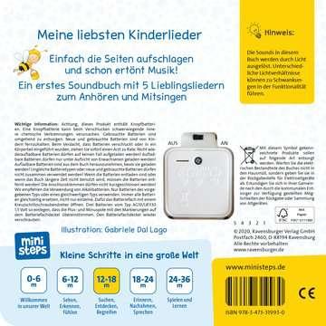 31993 Babybücher und Pappbilderbücher Erste Kinderlieder zum Anhören von Ravensburger 3