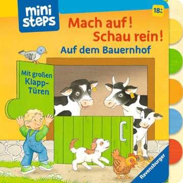 31994 Babybücher und Pappbilderbücher Mach auf! Schau rein! Auf dem Bauernhof von Ravensburger 1