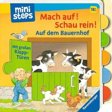 31994 Babybücher und Pappbilderbücher Mach auf! Schau rein! Auf dem Bauernhof von Ravensburger 2