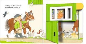 31994 Babybücher und Pappbilderbücher Mach auf! Schau rein! Auf dem Bauernhof von Ravensburger 4