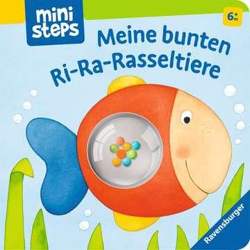 31999 Babybücher und Pappbilderbücher Meine bunten Ri-Ra-Rasseltiere von Ravensburger 1
