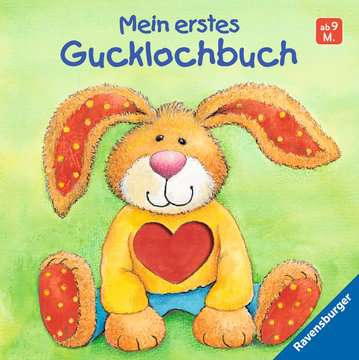 32451 Babybücher und Pappbilderbücher Mein erstes Gucklochbuch von Ravensburger 1