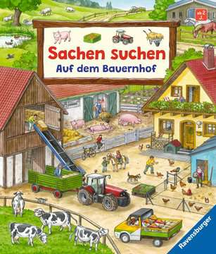 Sachen suchen: Auf dem Bauernhof Kinderbücher;Babybücher und Pappbilderbücher - Bild 1 - Ravensburger
