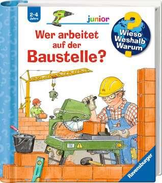 Wer arbeitet auf der Baustelle? Kinderbücher;Wieso? Weshalb? Warum? - Bild 2 - Ravensburger