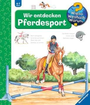 Wir entdecken Pferdesport Kinderbücher;Wieso? Weshalb? Warum? - Bild 1 - Ravensburger