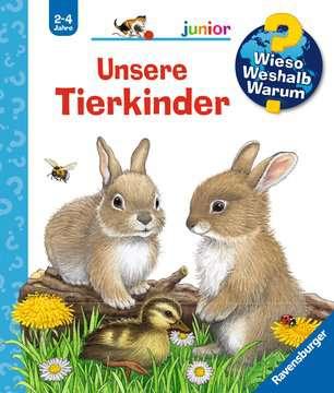Unsere Tierkinder Kinderbücher;Wieso? Weshalb? Warum? - Bild 1 - Ravensburger