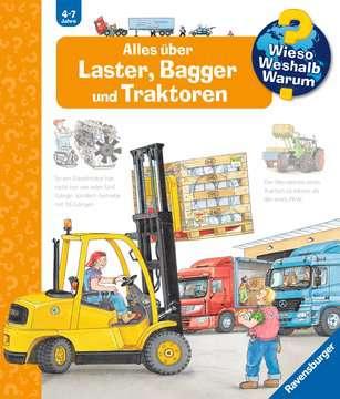 Alles über Laster, Bagger und Traktoren Kinderbücher;Wieso? Weshalb? Warum? - Bild 1 - Ravensburger