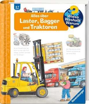Alles über Laster, Bagger und Traktoren Kinderbücher;Wieso? Weshalb? Warum? - Bild 2 - Ravensburger