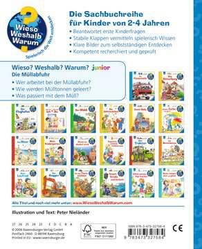 Die Müllabfuhr Kinderbücher;Wieso? Weshalb? Warum? - Bild 3 - Ravensburger