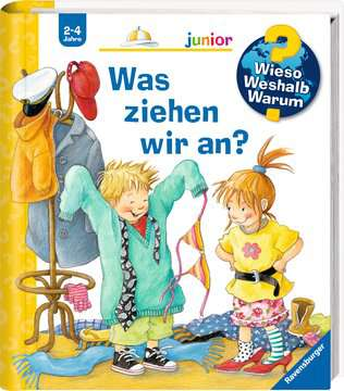 Was ziehen wir an? Kinderbücher;Wieso? Weshalb? Warum? - Bild 2 - Ravensburger