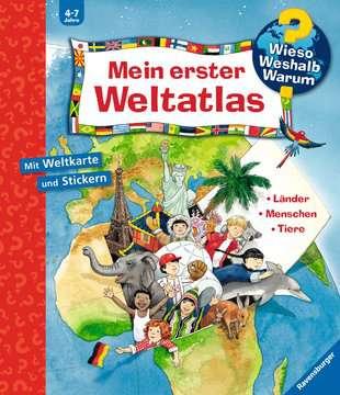 Mein erster Weltatlas Kinderbücher;Wieso? Weshalb? Warum? - Bild 1 - Ravensburger