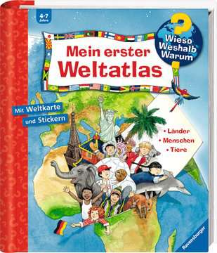 Mein erster Weltatlas Kinderbücher;Wieso? Weshalb? Warum? - Bild 2 - Ravensburger