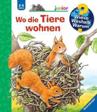 Wo die Tiere wohnen Kinderbücher;Wieso? Weshalb? Warum? - Bild 1 - Ravensburger