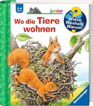 Wo die Tiere wohnen Kinderbücher;Wieso? Weshalb? Warum? - Bild 2 - Ravensburger