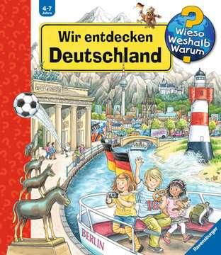 32882 Wieso? Weshalb? Warum? Wir entdecken Deutschland von Ravensburger 1