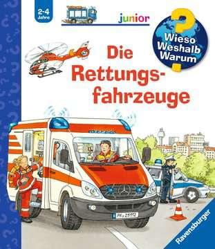 Die Rettungsfahrzeuge Bücher;Wieso? Weshalb? Warum? - Bild 1 - Ravensburger