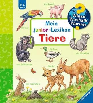 Mein junior-Lexikon: Tiere Kinderbücher;Wieso? Weshalb? Warum? - Bild 1 - Ravensburger