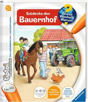 tiptoi® Entdecke den Bauernhof Kinderbücher;tiptoi® - Bild 2 - Ravensburger
