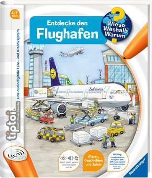tiptoi® Entdecke den Flughafen Kinderbücher;tiptoi® - Bild 2 - Ravensburger