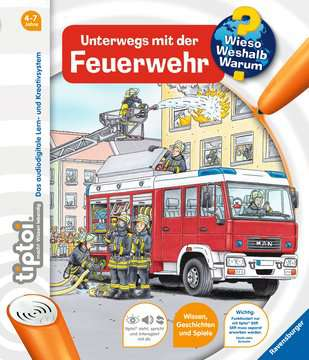 tiptoi® Unterwegs mit der Feuerwehr Kinderbücher;tiptoi® - Bild 1 - Ravensburger