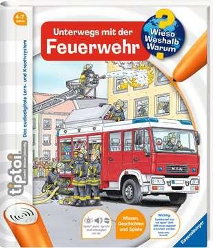tiptoi® Unterwegs mit der Feuerwehr Kinderbücher;tiptoi® - Bild 2 - Ravensburger
