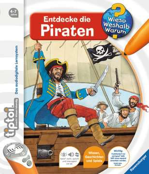 32906 tiptoi® tiptoi® Entdecke die Piraten von Ravensburger 1