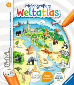 tiptoi® Mein großer Weltatlas Kinderbücher;tiptoi® - Bild 1 - Ravensburger