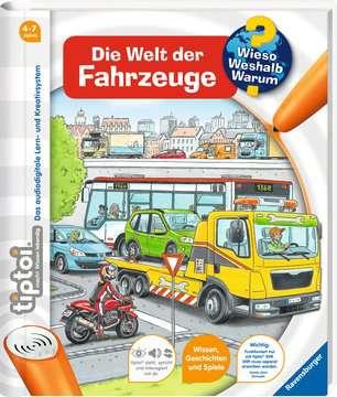tiptoi® Die Welt der Fahrzeuge Kinderbücher;tiptoi® - Bild 2 - Ravensburger